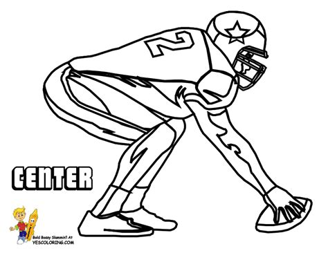 fired up football coloring pictures free football