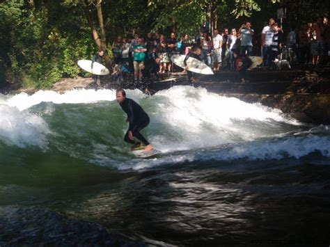 Surfing Germany by Munich River Surfing