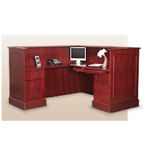 Carmel Windsor Traditional L Shaped Reception Desk Traditional Reception Desk