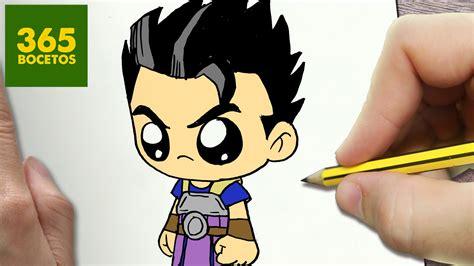 imagenes kawaii de dragon ball z como dibujar kyabe dragon ball super kawaii paso a paso