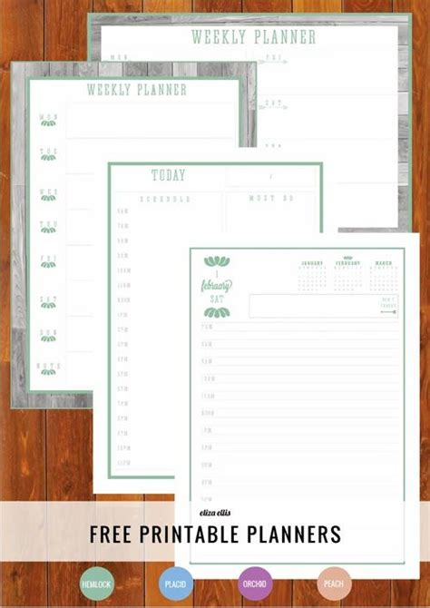 printable day planner refills free 25 unique daily planner pages ideas on pinterest