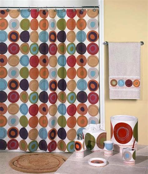 dot swirl shower curtain bathroom shower curtains and matching accessories ayanahouse