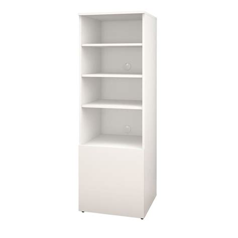 white melamine bookcase bookcase in white and melamine 600203