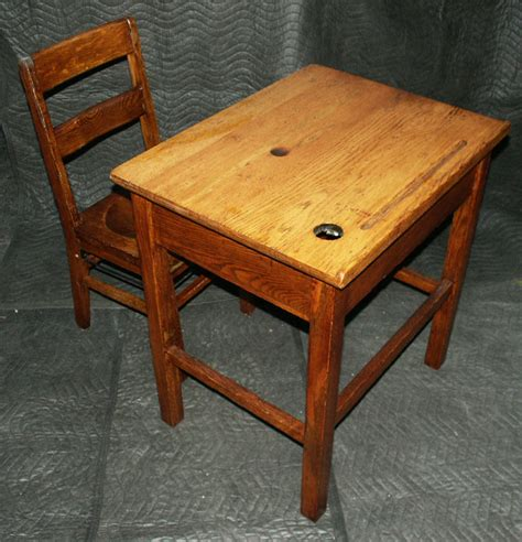 Antique Wooden School Desk Antique Furniture Wooden School Desk