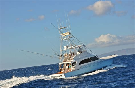 saltwater fishing boat names excellence maui luxury sport fishing yacht maui fishing