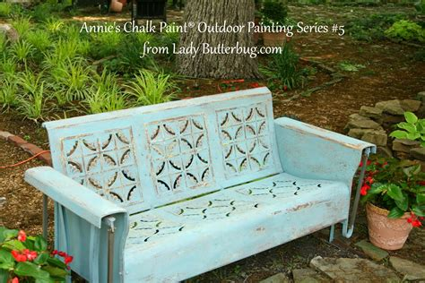 Annie Sloan Chalk Paint Tutorial Series For Outdoor Painted Outdoor Furniture
