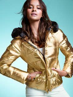 Marsmello Bomber Gold by Gold Puffer Jacket S Secret 118 In An Xs