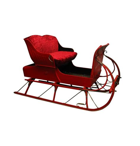 life size santa sleigh can be used as a prop or even a set