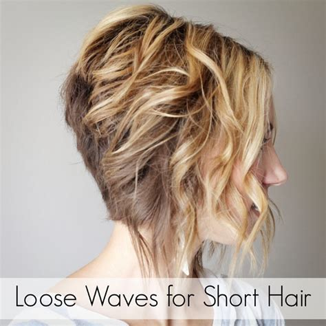 short hair perm loose curl how to 30 short hairstyles for that perfect look cute diy projects