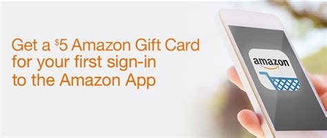 Amazon 5 Gift Card App - free 5 amazon gift card with amazon app ftm