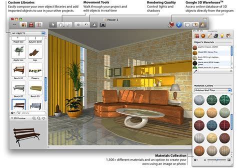 living room design software design your own home using best house design software