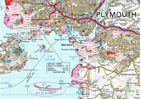 map of plymouth area sitting on the dock of the bay a day in the of an