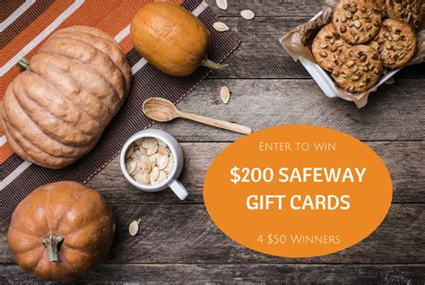 Safeway Gift Card Deals - enter to win 200 safeway gift card giveaway by october 5th super safeway