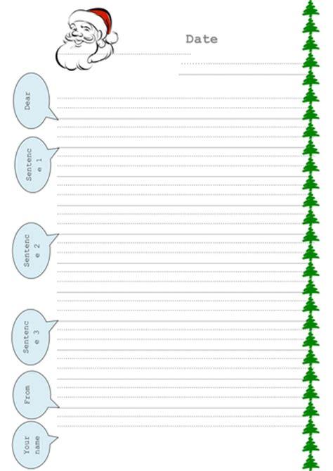 letter to santa template tes dear santa letter framework by slinkywin01 teaching