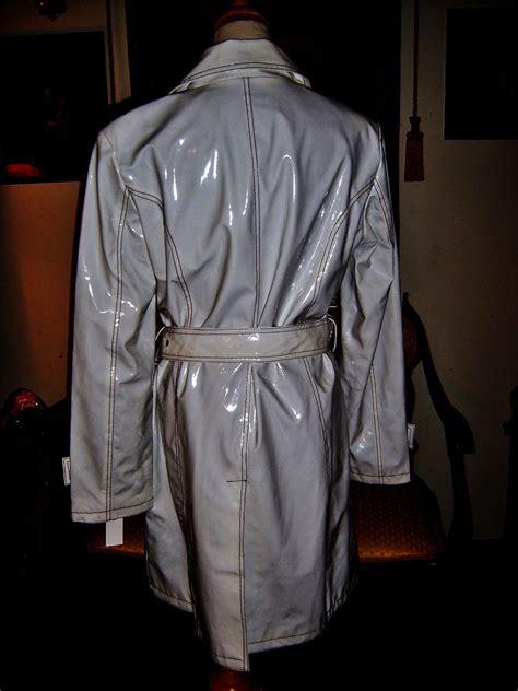 pvc vinyl trench coats pvc shiny vinyl rain slicker raincoat long trench coat