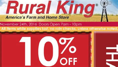 rural king black friday deals ad scan the gazette