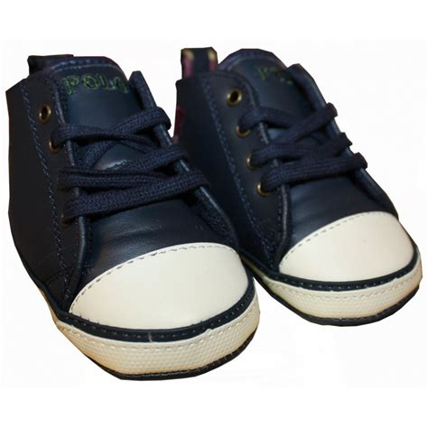 navy baby shoes ralph navy baby shoes