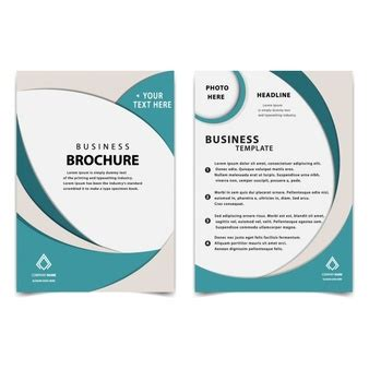 basic brochure template booklet vectors photos and psd files free