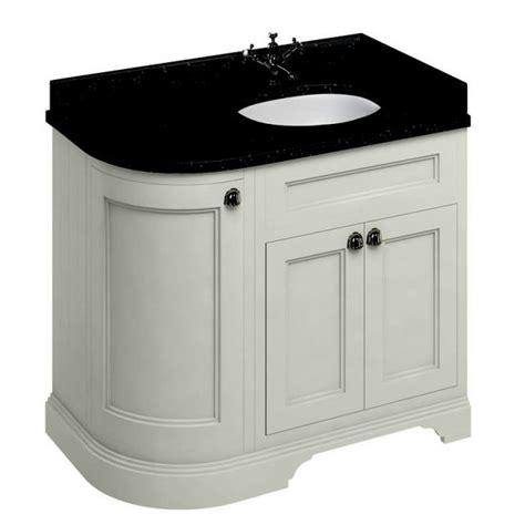 Curved Vanity Unit Bathroom by Burlington 100 Curved Vanity Unit Uk Bathrooms