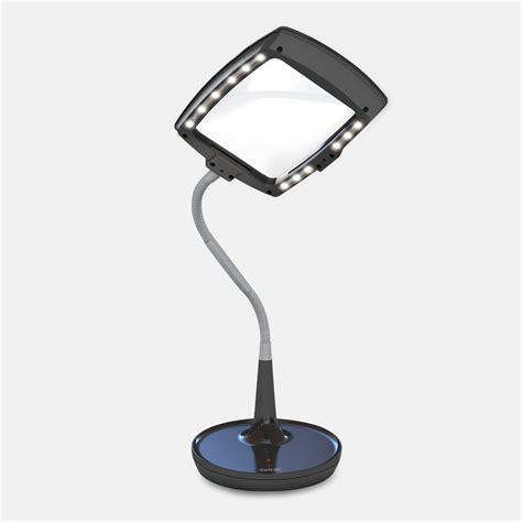 LED Magnifier Desk Lamp   the BoomShop