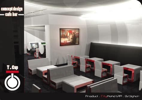 cyber cafe concept design  raymond lam  coroflotcom