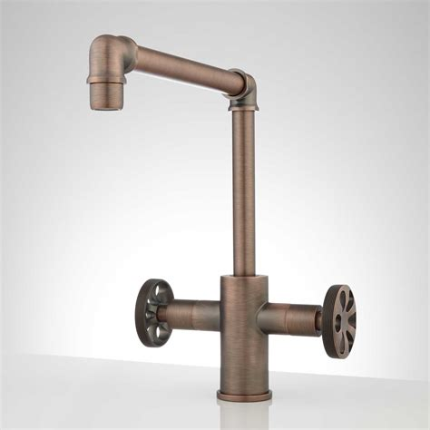 kitchen faucet single hole edison single hole dual handle kitchen faucet ebay