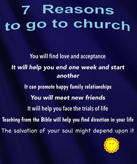 7 Reasons To Your by Milford Baptist Church 7 Reasons To Come To Church