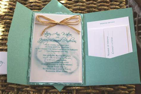 invitation card : Beach themed wedding invitation   Invite