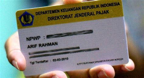 tata  pembuatan npwp perorangan  kantor pajak