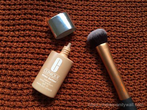 clinique even better makeup clinique even better makeup spf 15 review swatch fotd