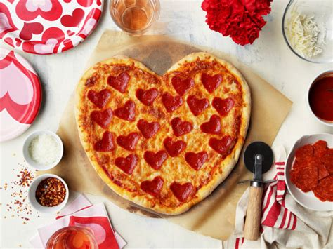 valentines food pizza dough for thin crust pizza recipe food