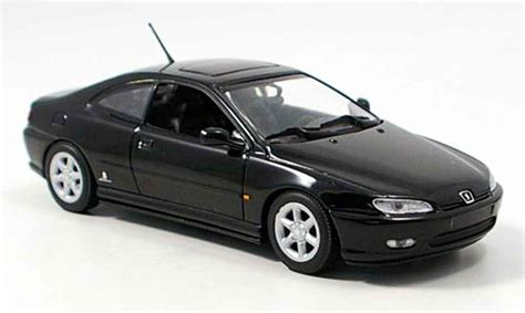 peugeot 406 coupe black peugeot 406 coupe black 1997 minichs diecast model car
