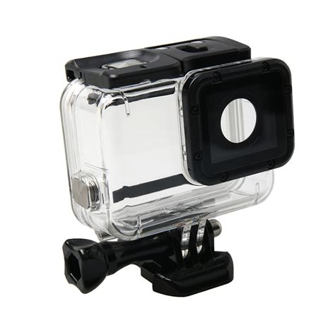 gopro waterproof housing for gopro hero5 waterproof housing protective case hollow back cover with buckle