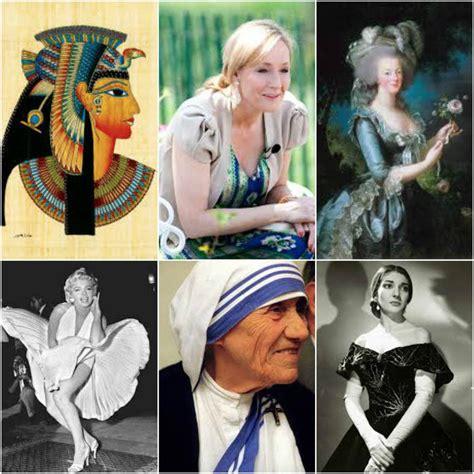 imagenes historicas de famosos las 30 mujeres m 225 s famosas y destacadas de la historia