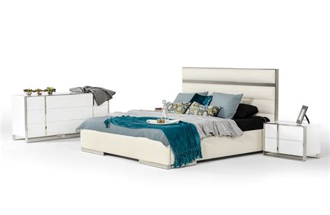 nova bedroom set nova domus francois modern white bedroom set modern
