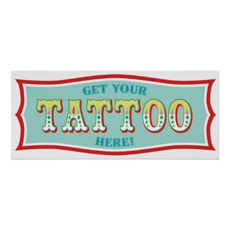 tattoo booth online tattoo booth sign for carnival themed birthday bl posters
