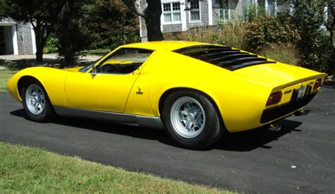 Lamborghini Miura For Sale Classic Italian Cars For Sale 187 Archive 187 1969