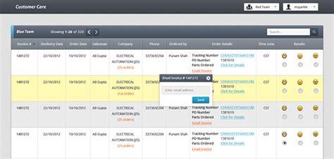 design web application ui sales customer web app ui on behance