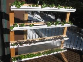 Gutter Vertical Garden Vertical Gutter Gardens Peak Prosperity