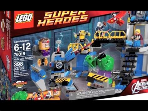 Sy 368 Heroes Avenger Lab lego marvel heroes lab smash set review 2014 assemble