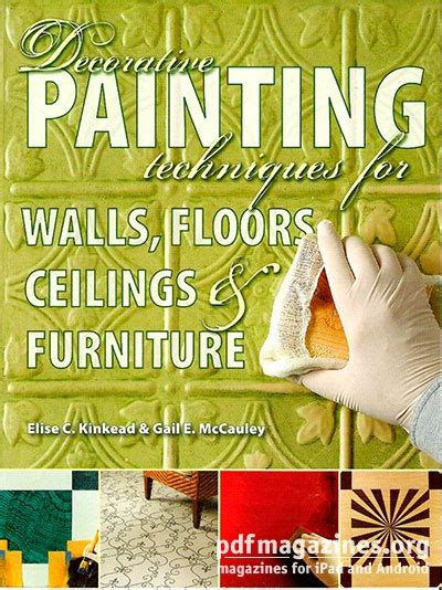 Decorative Painting Magazines by Decorative Painting Techniques For Walls Floors Ceilings