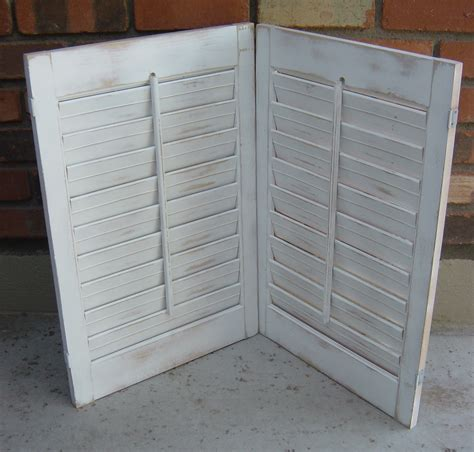 shabby chic shutters the backyard boutique by five to nine furnishings pair of