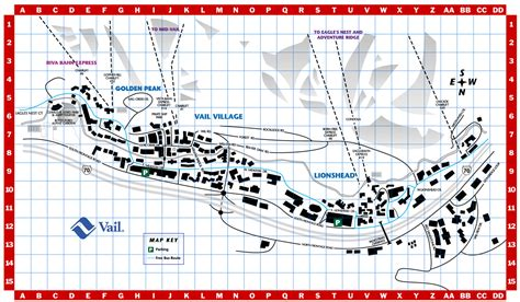 vail map vail town map