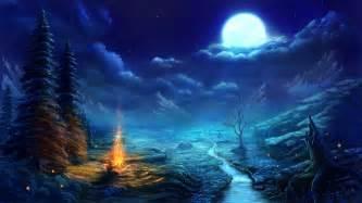 Blue Diamond Spray Paint - anime night scene wallpaper amazing resolution o3306r3s scenery pinterest wallpaper