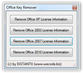 Office Removal Tool How To Remove Replace Microsoft Office License Product Key