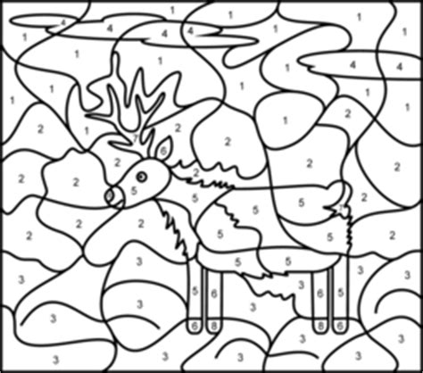 hard deer coloring pages animals coloring online