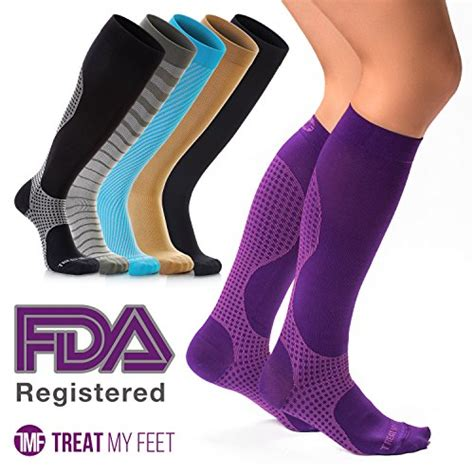 colorful compression socks for nurses graduated to boost circulation compression tights for