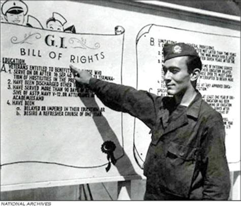 Free Mba Gi Bill by Gi Bill Aka The Servicemen S Readjustment Act Of 1944