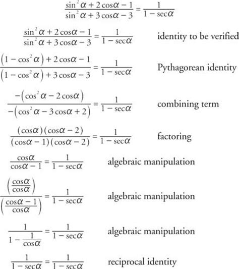 printables pythagorean identities worksheet mywcct