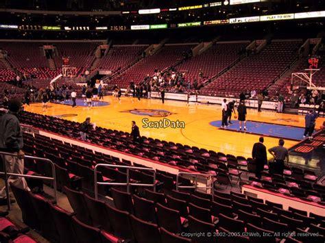 Section 124 Fargo Center by Fargo Center Section 115 Philadelphia 76ers Rateyourseats